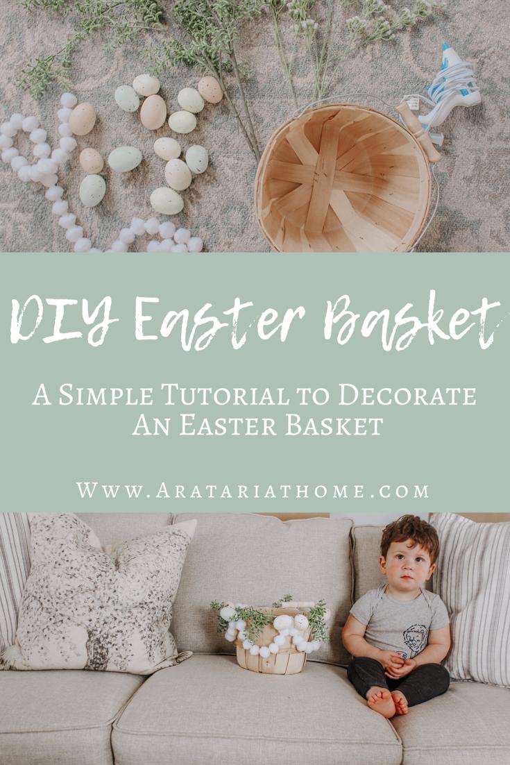 DIY Easter Basket Tutorial