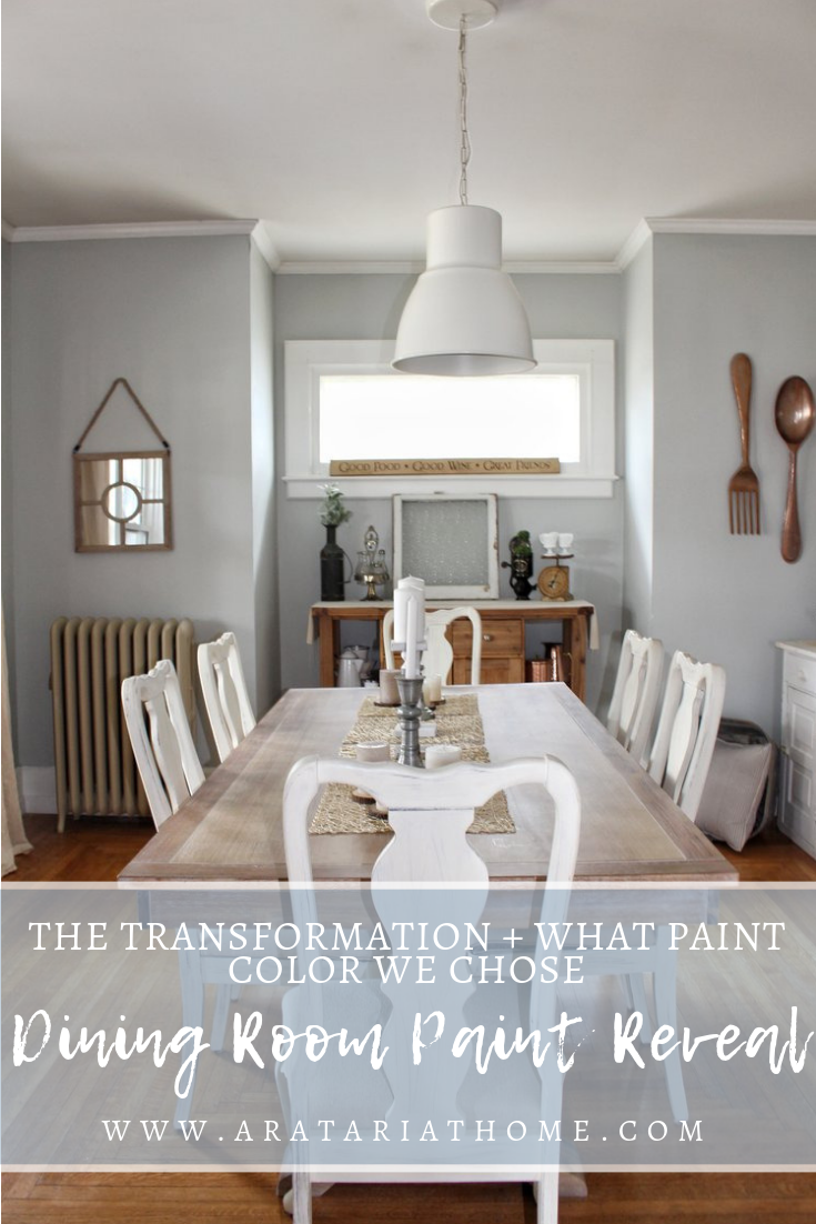 Dining Room Paint Reveal