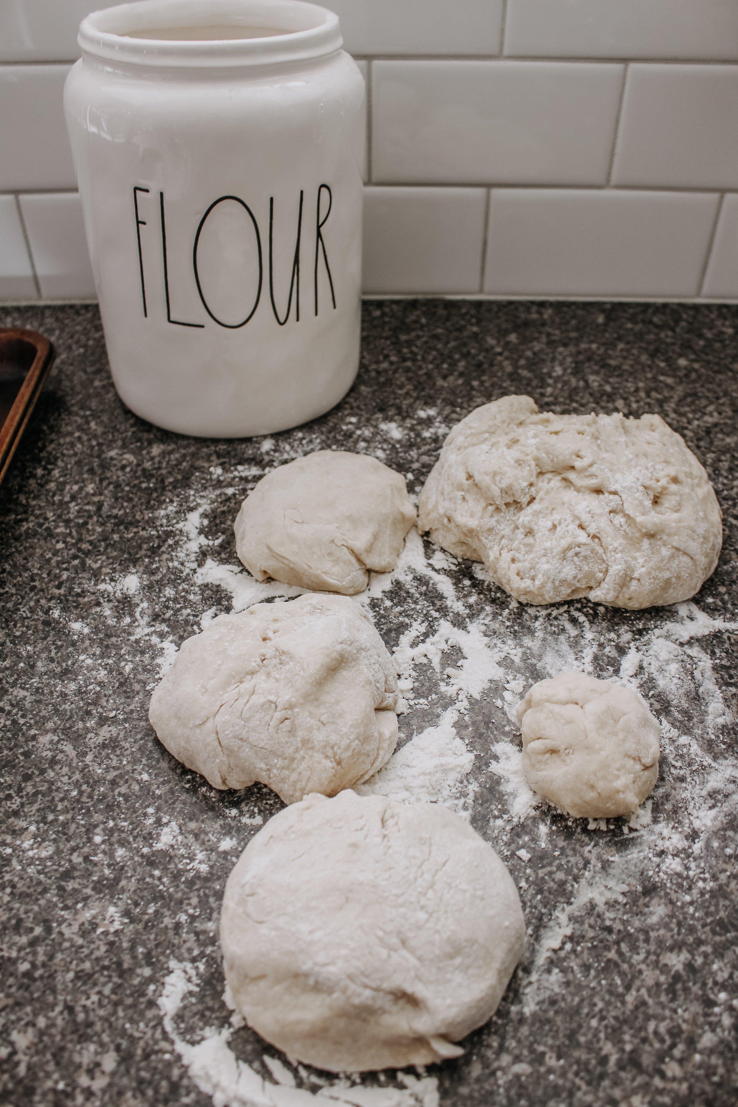 Easter Bread Dough Balls