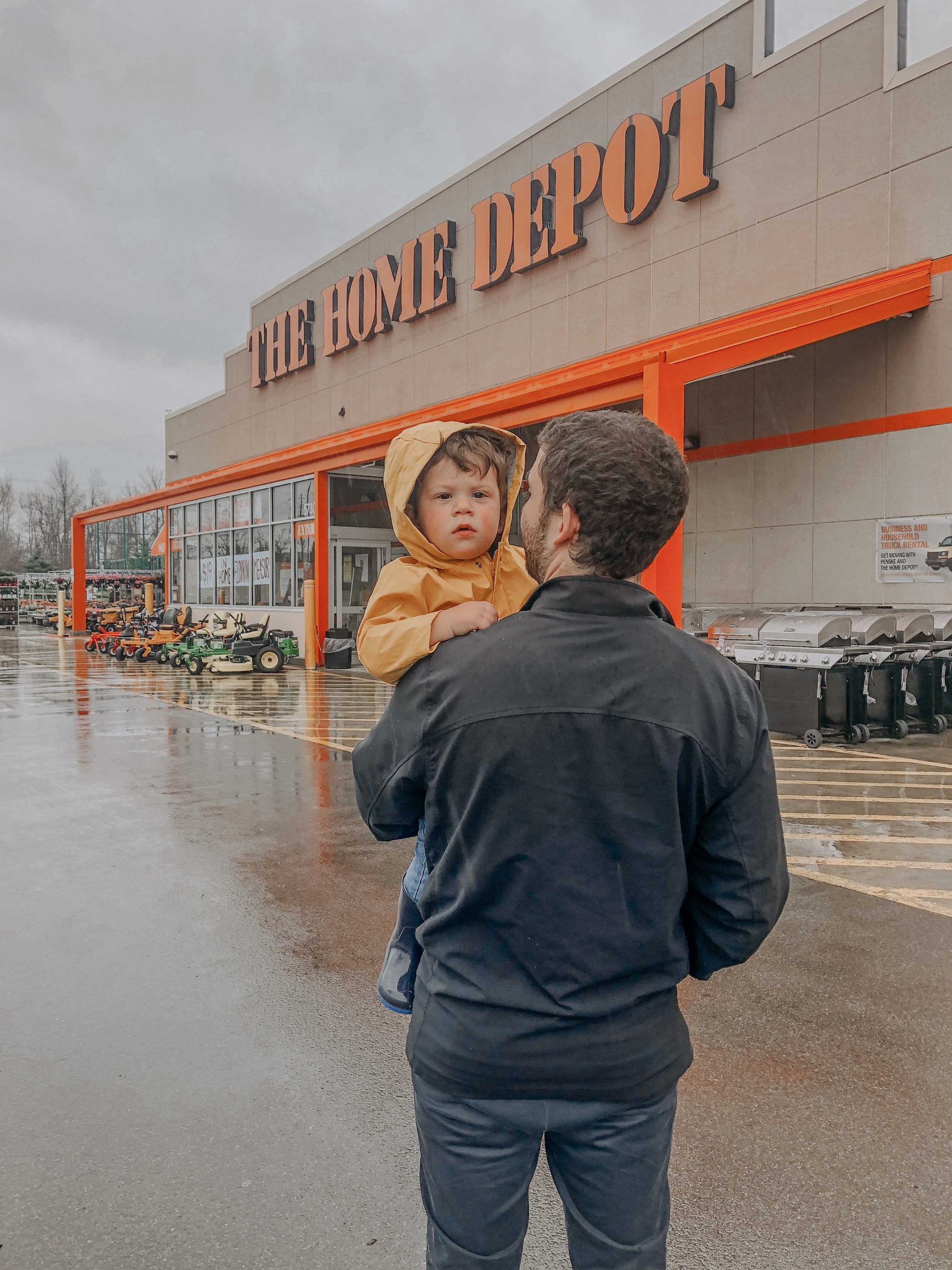 Trip to Home Depot for the Open House