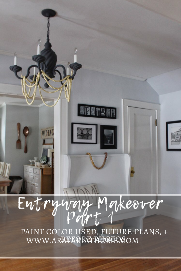 Entryway Makeover Part 1