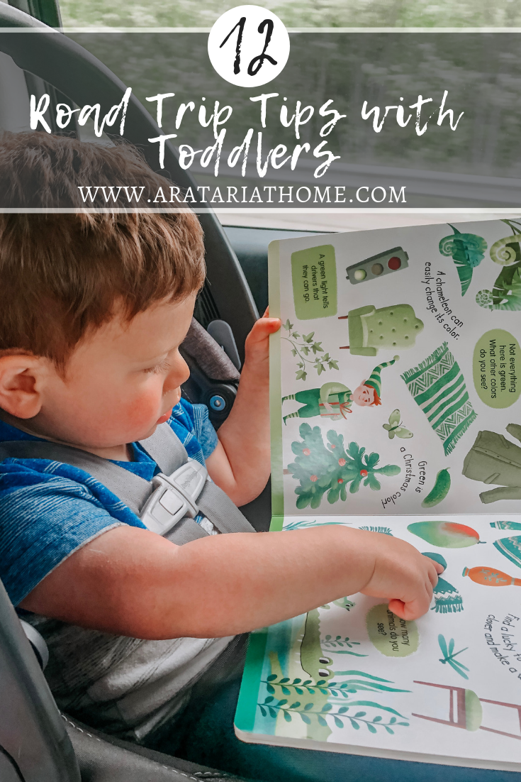 Road Trip Tips with Toddlers