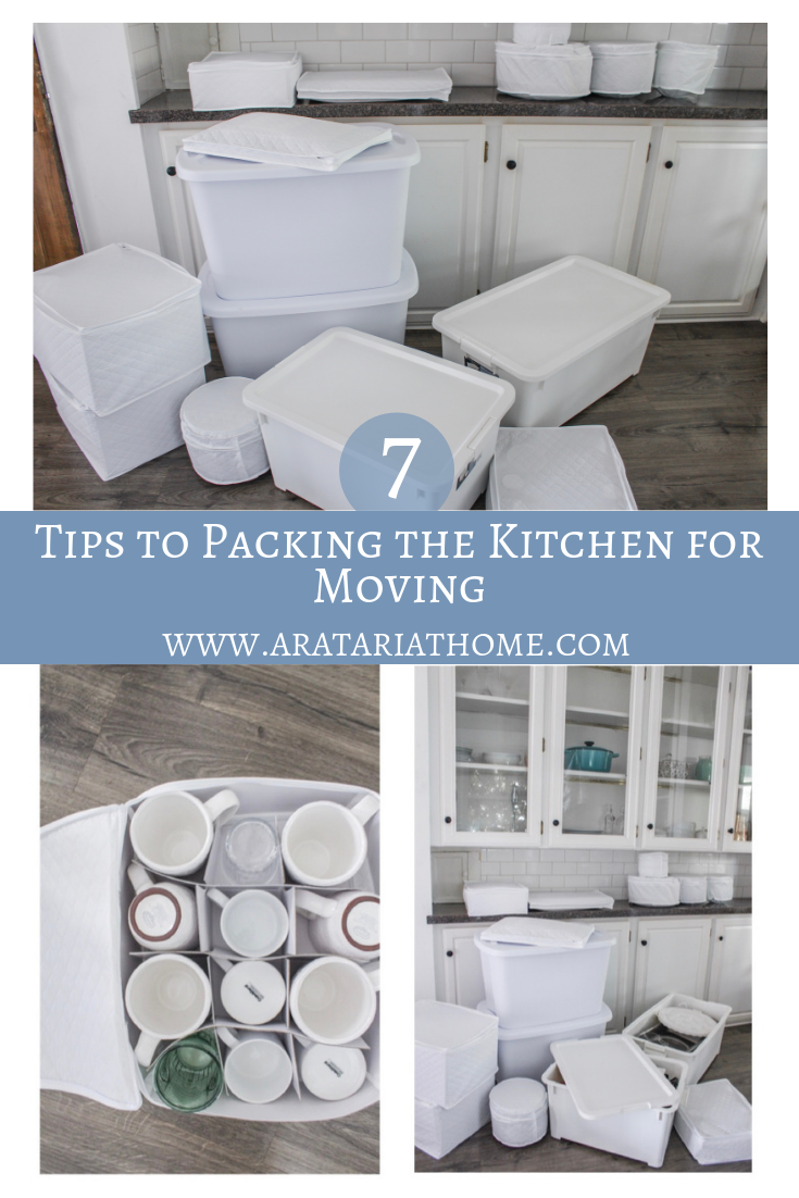 Tips to Packing the Kitchen for Moving