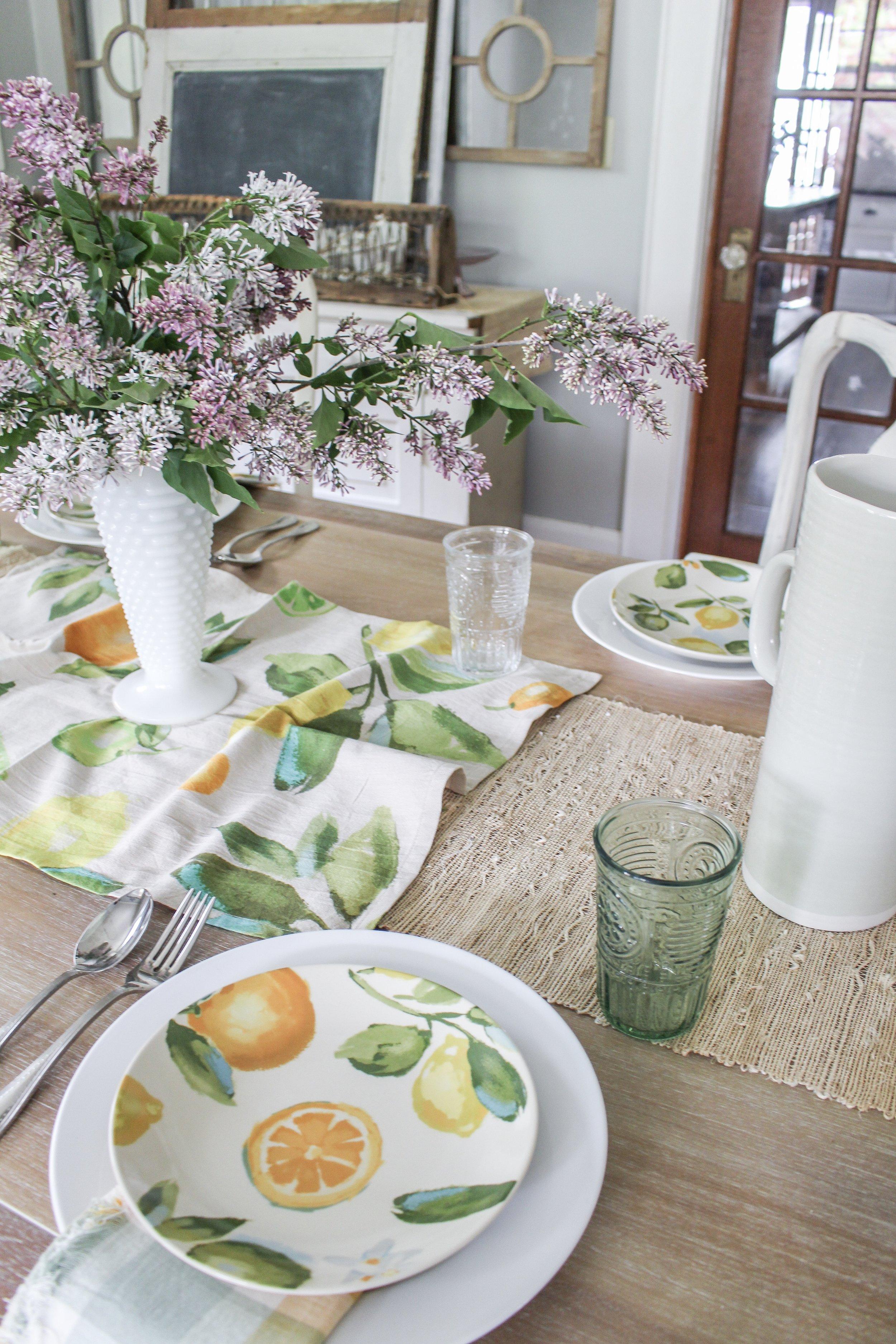 Summer table idea