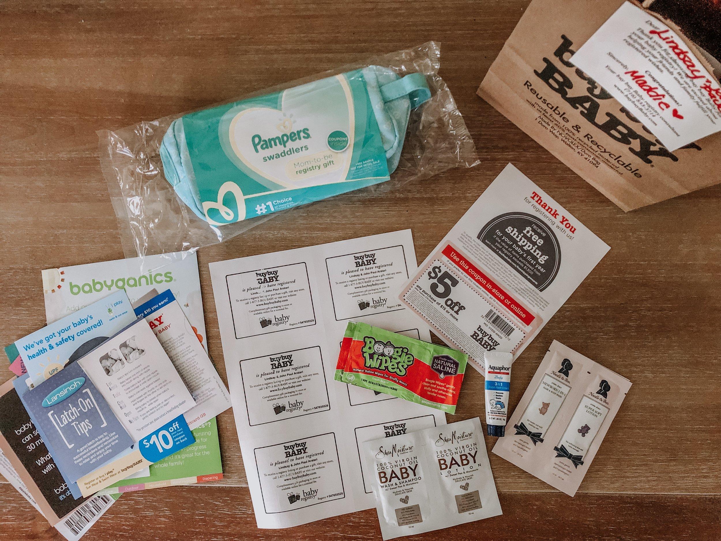 Baby Registry Gift Bag