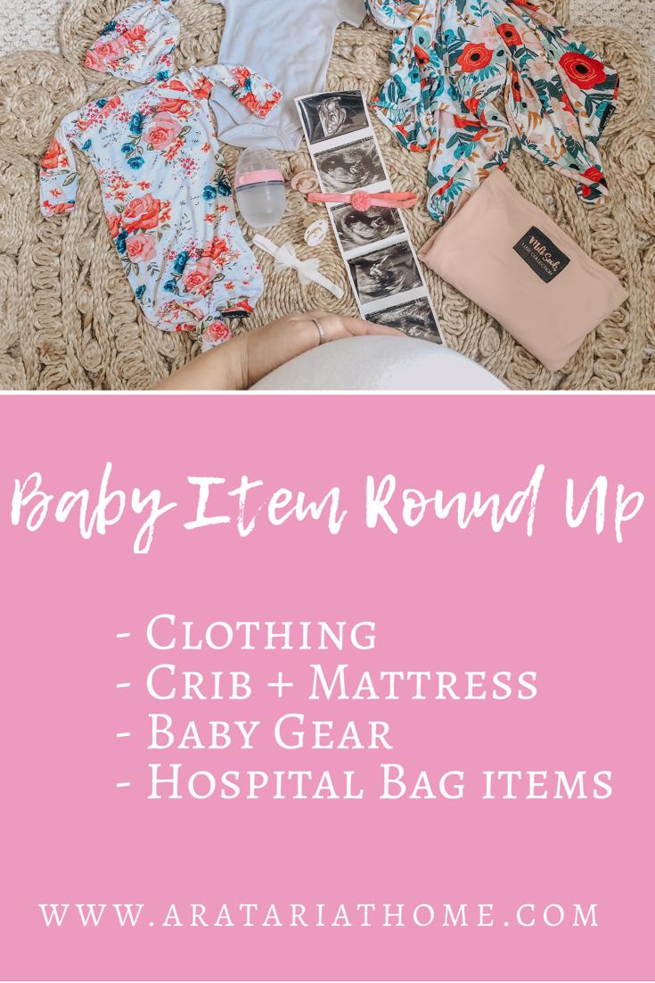 Baby Item Round Up