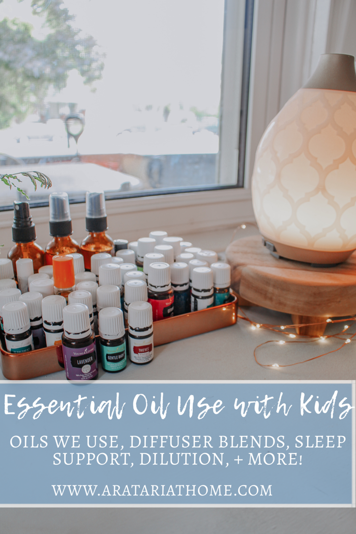 Essential Oil Use with Kids
