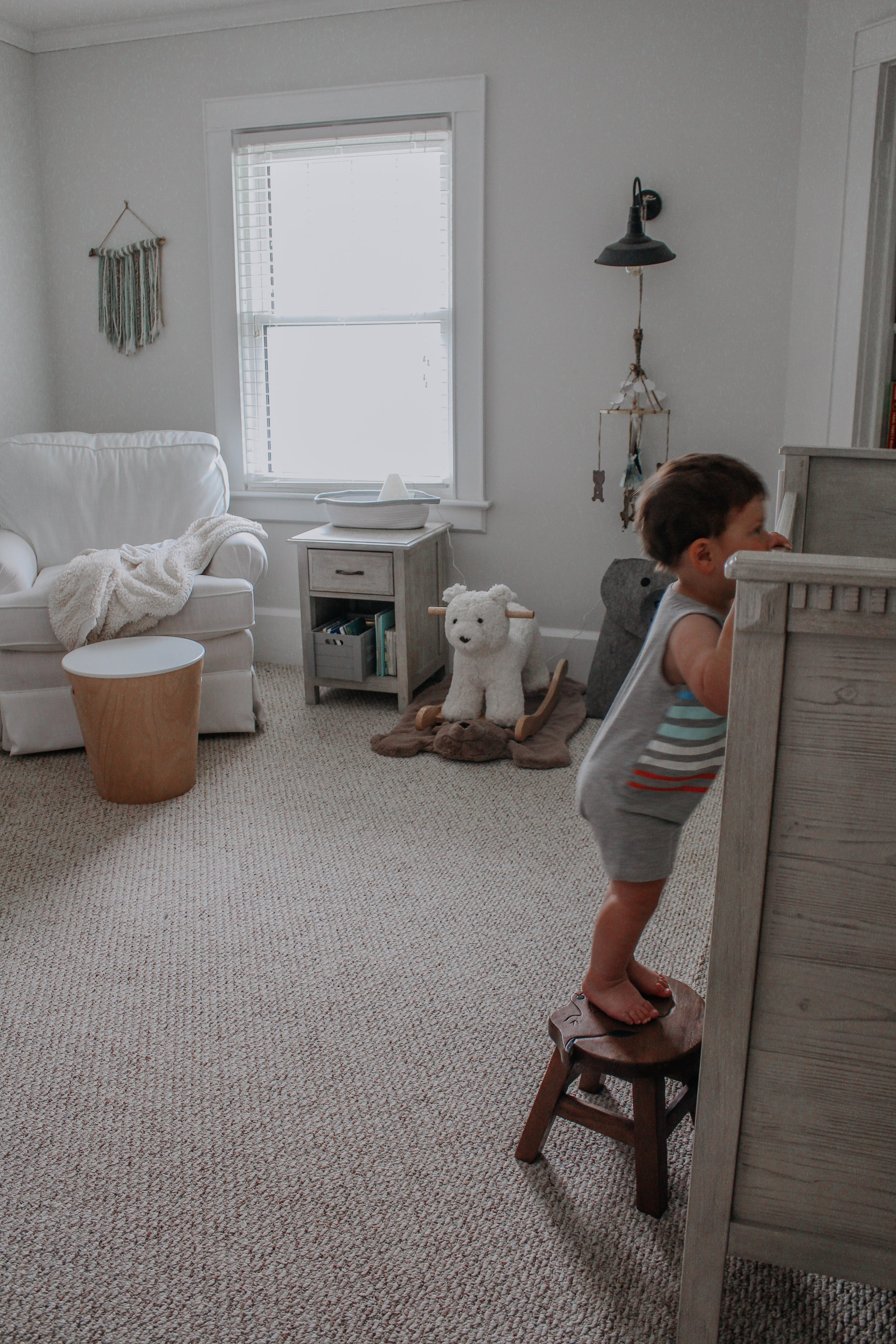 Diffuser in Dominic's Nursery