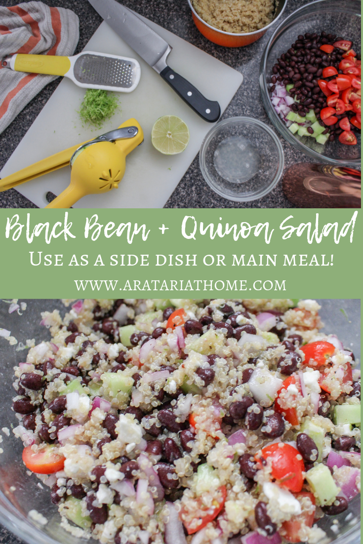 Black Bean + Quinoa Salad
