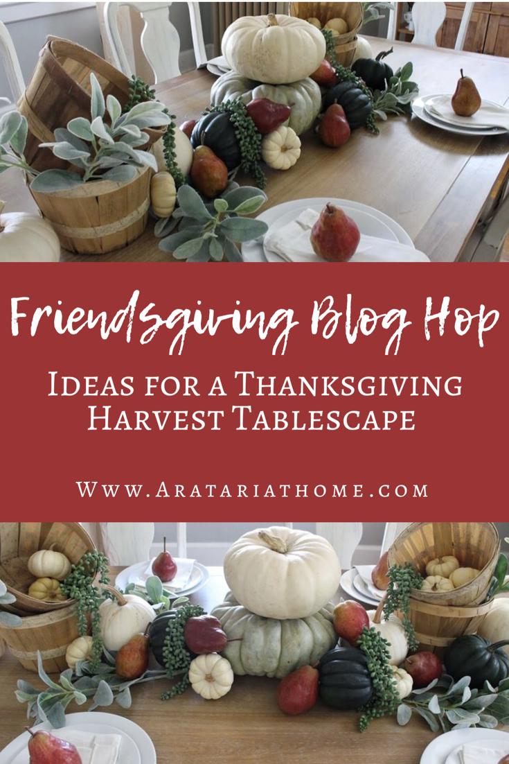 Friendsgiving Blog Hop