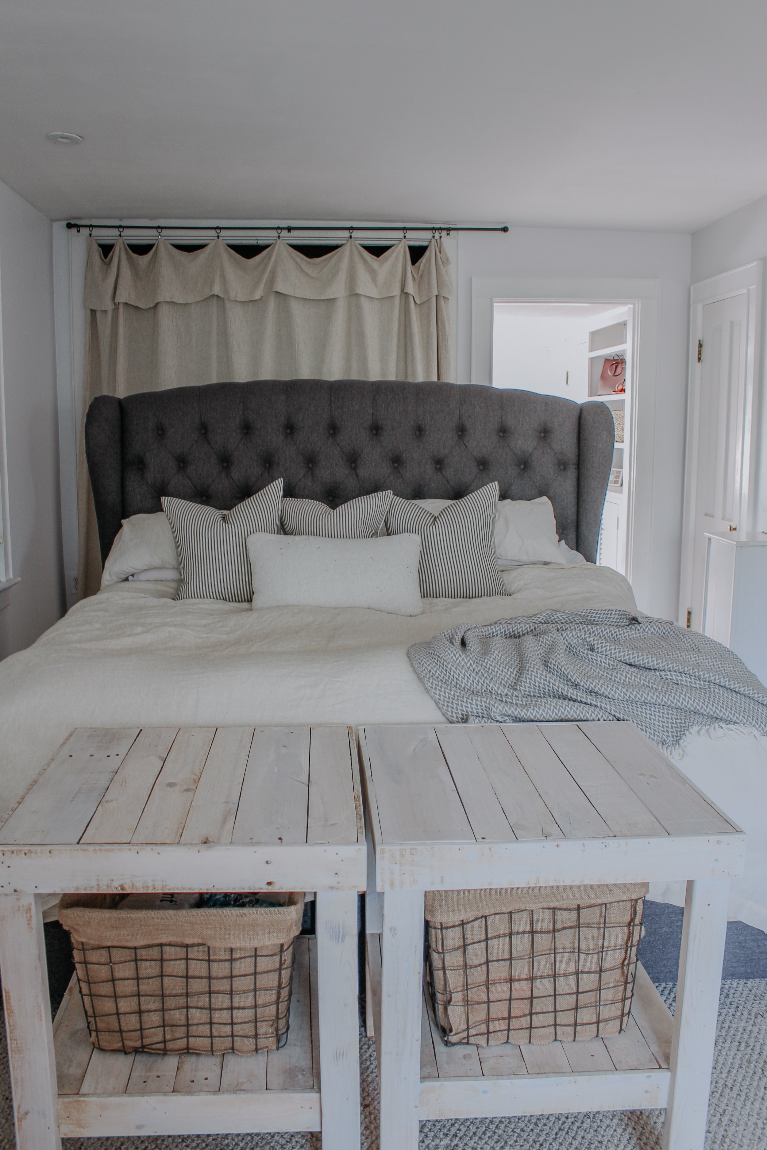 Layering a bed