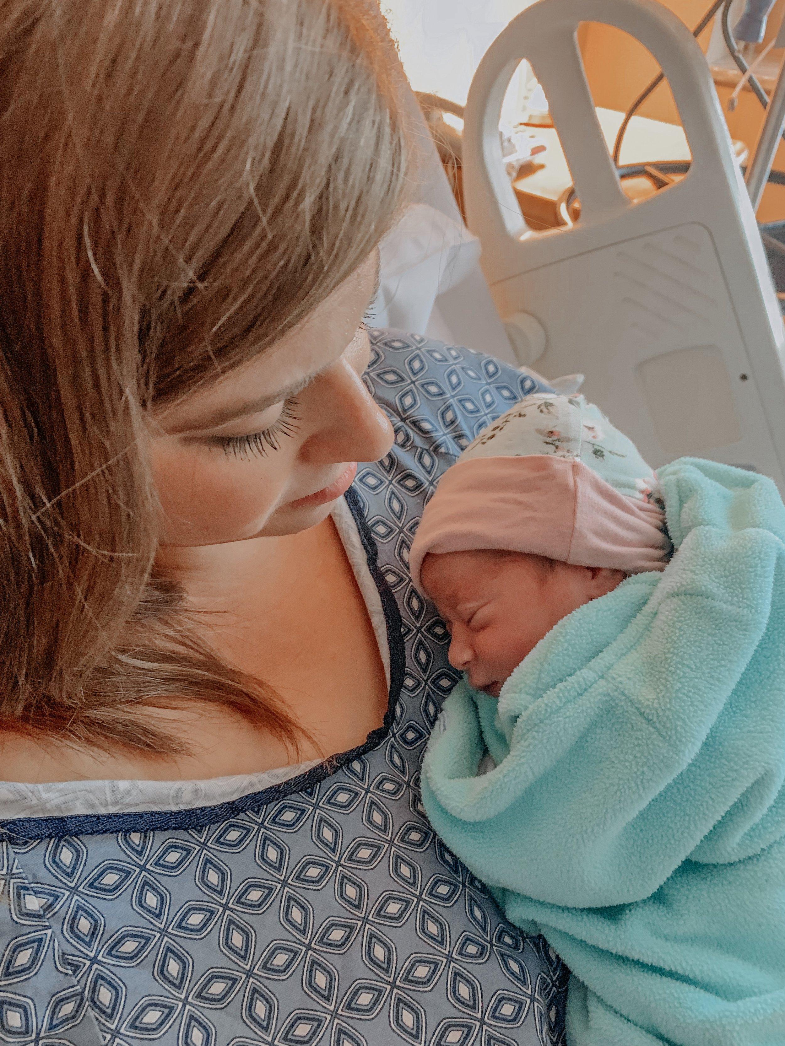 Giulietta with mommy
