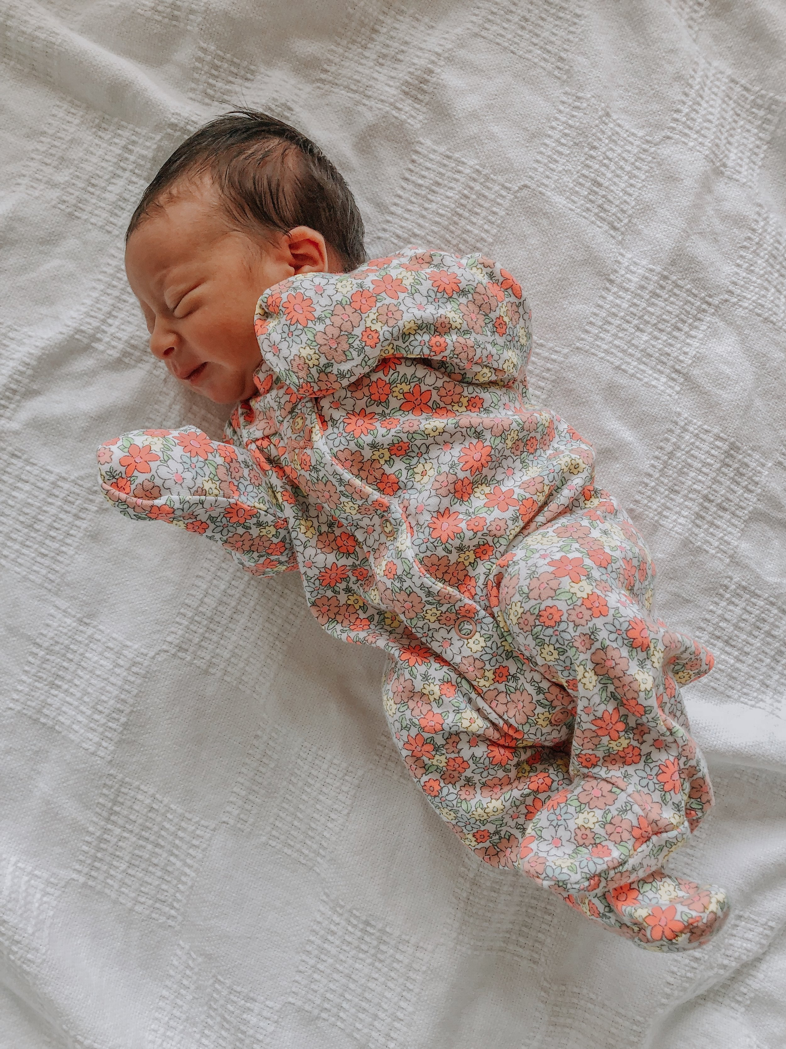 Giulietta's going home outfit