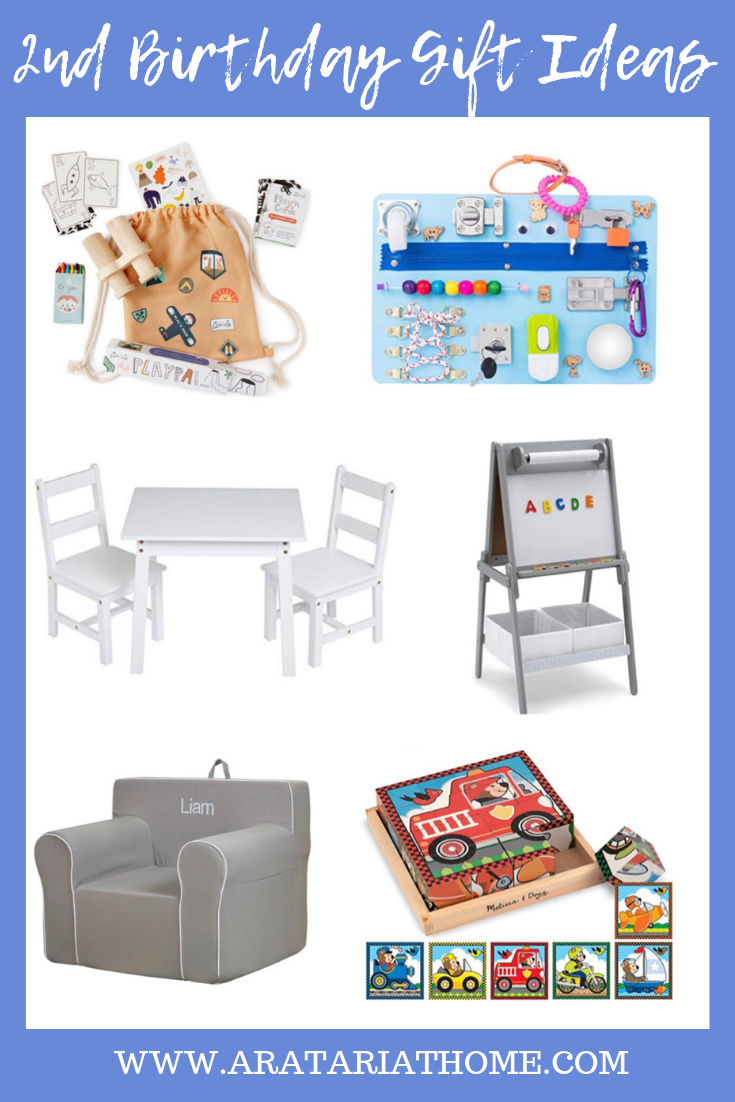 2nd Birthday Gift Ideas