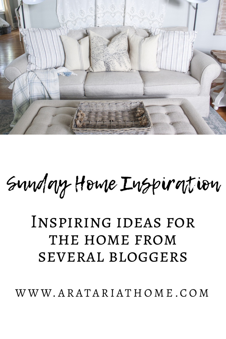 Sunday Home Inspiration