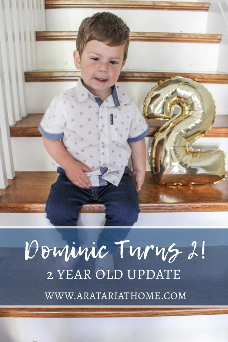 Dominic Turns 2
