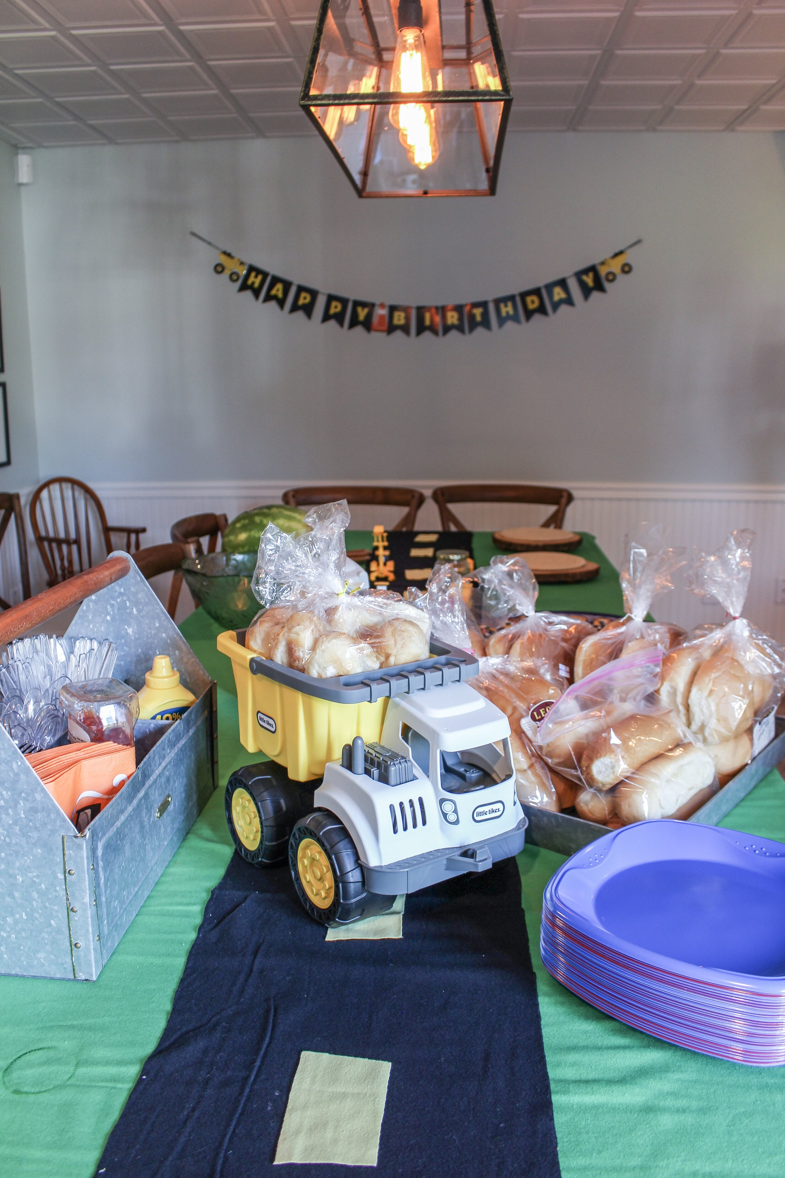 Cars and Trucks Tablescape
