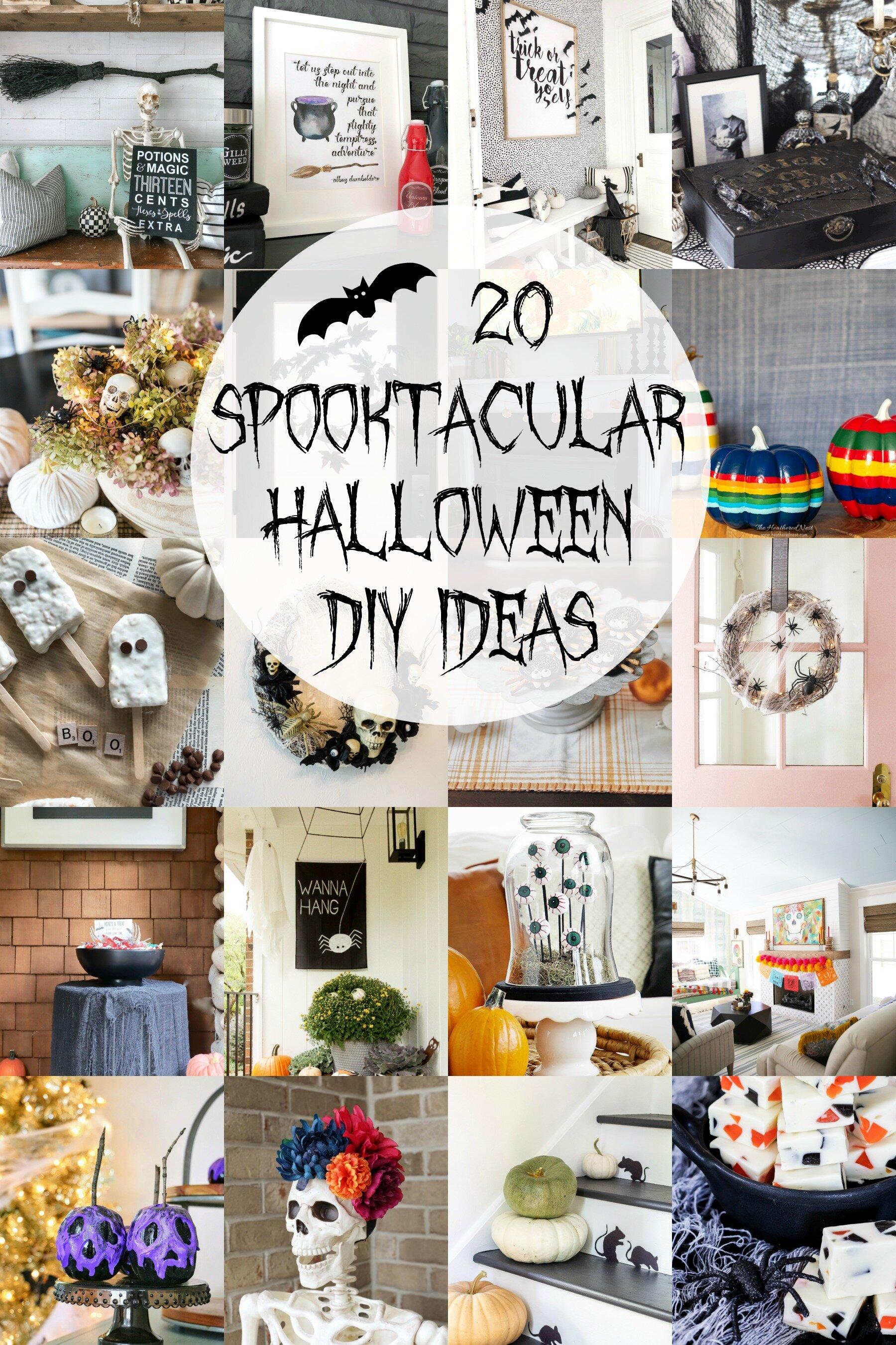 20 spectacular halloween DIY ideas