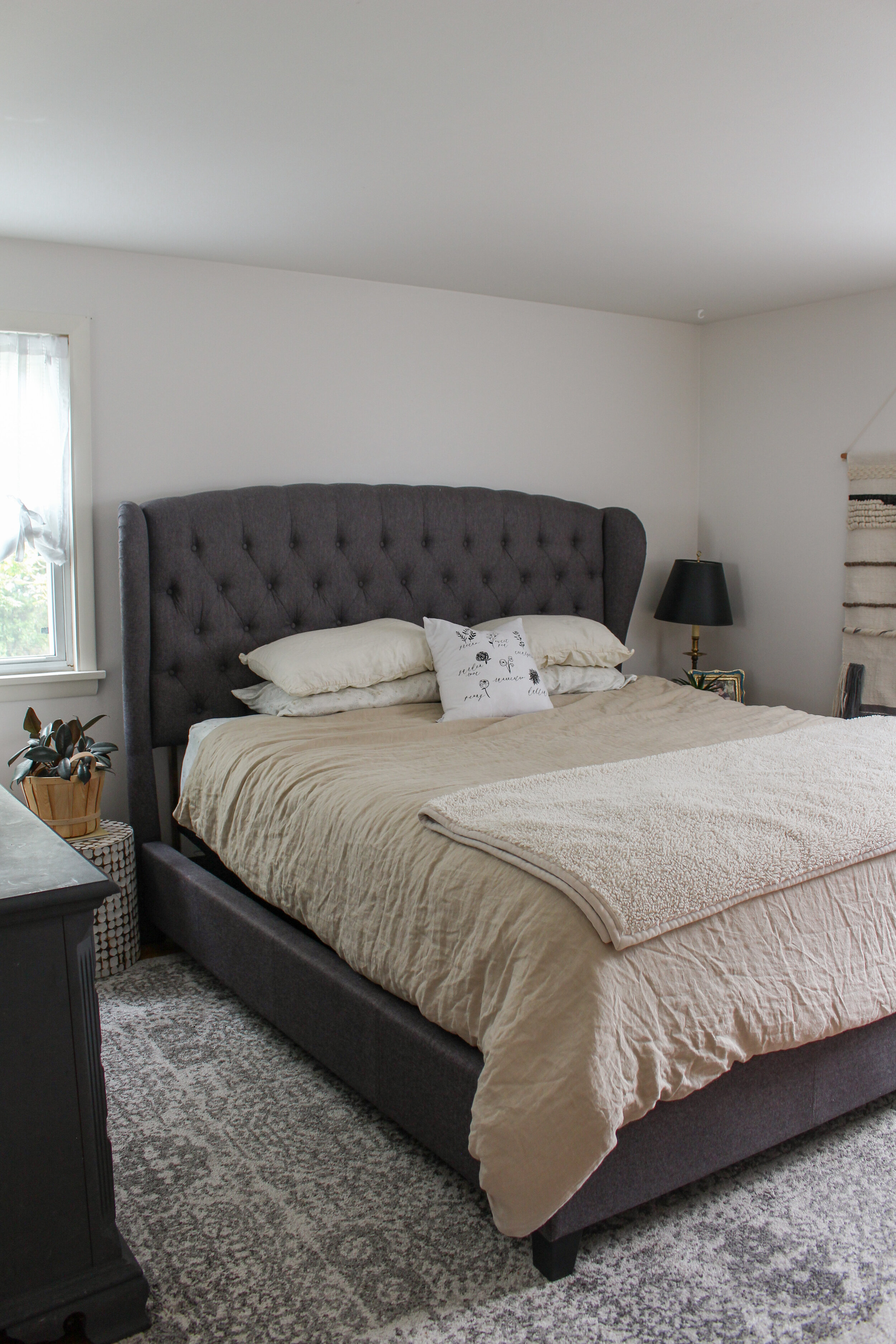 Neutral Master Bedroom Reveal Sponsored By Joss And Main Aratari At Home