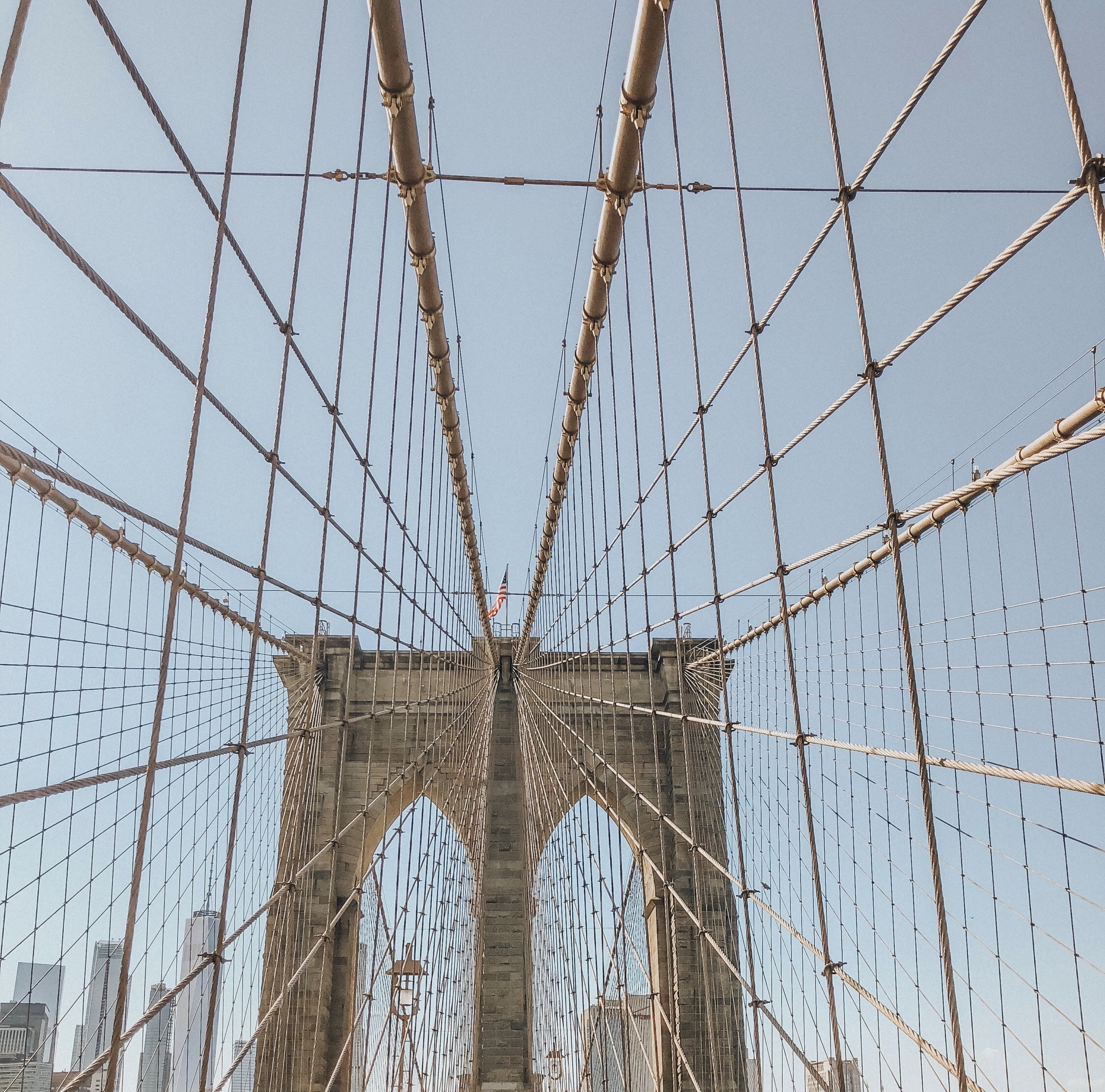 Photo and Editing by: Elle Rigg | Brooklyn Bridge, NY