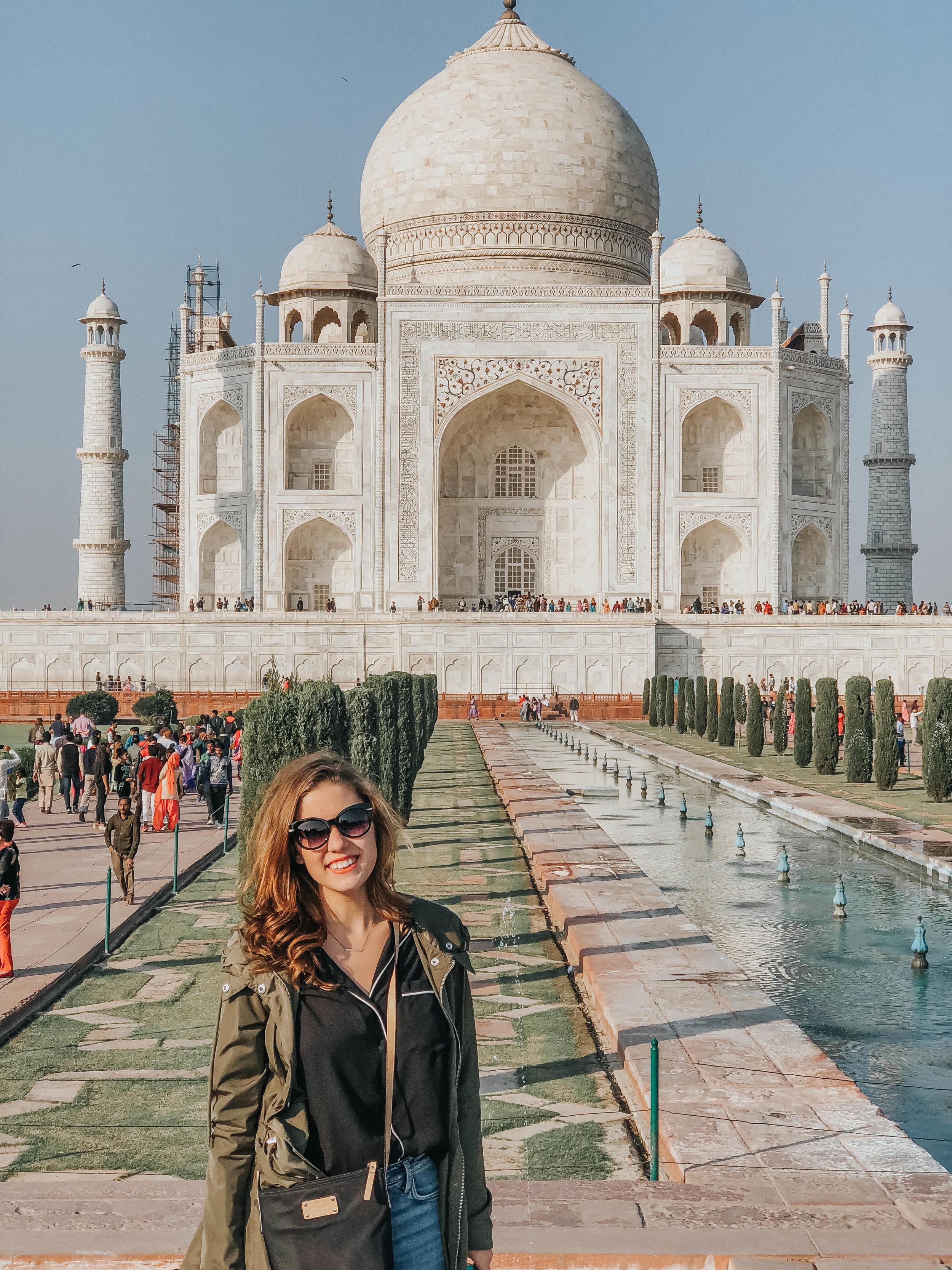 The Taj Mahal   Agra, India