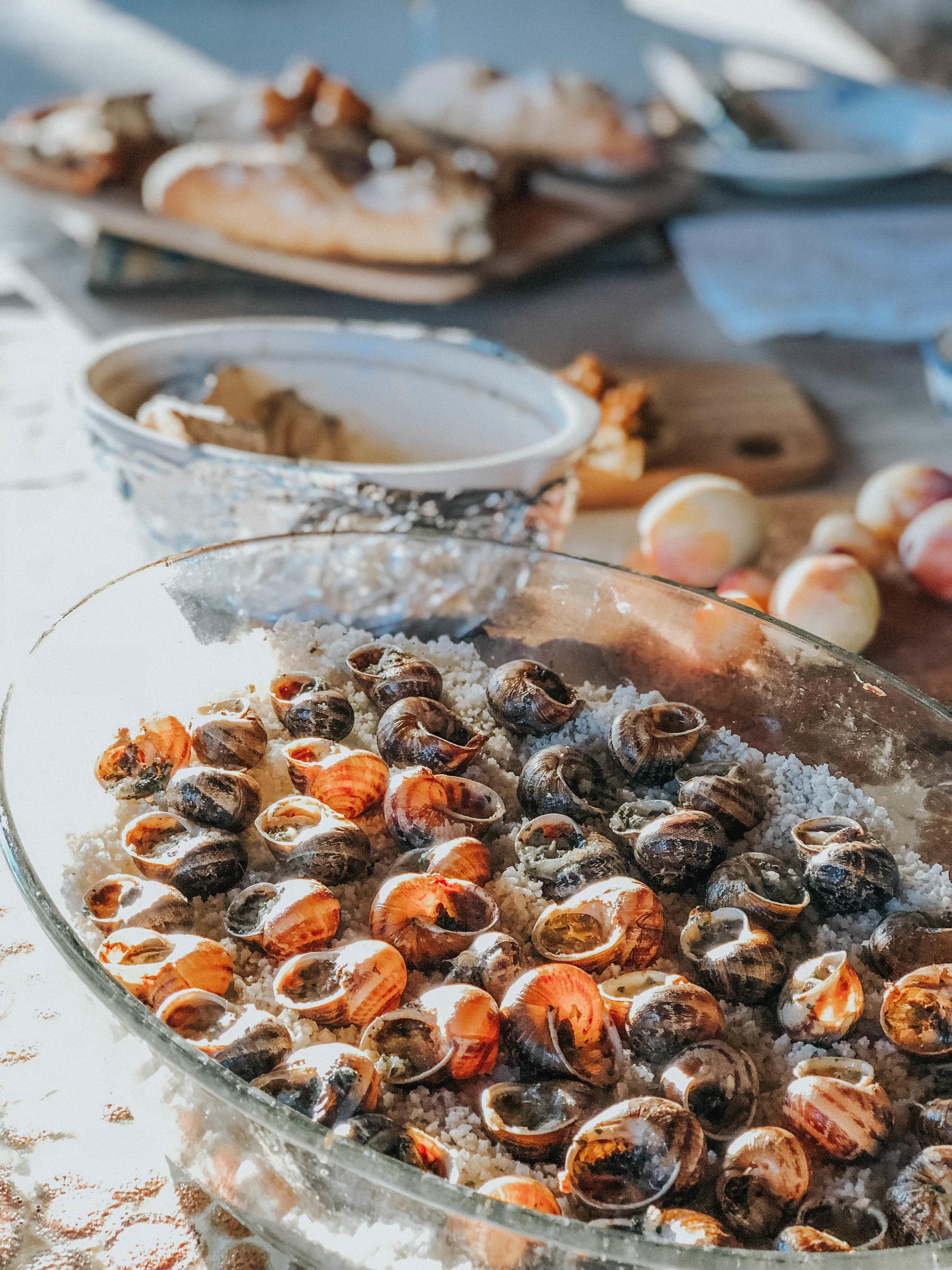 Homemade Escargot