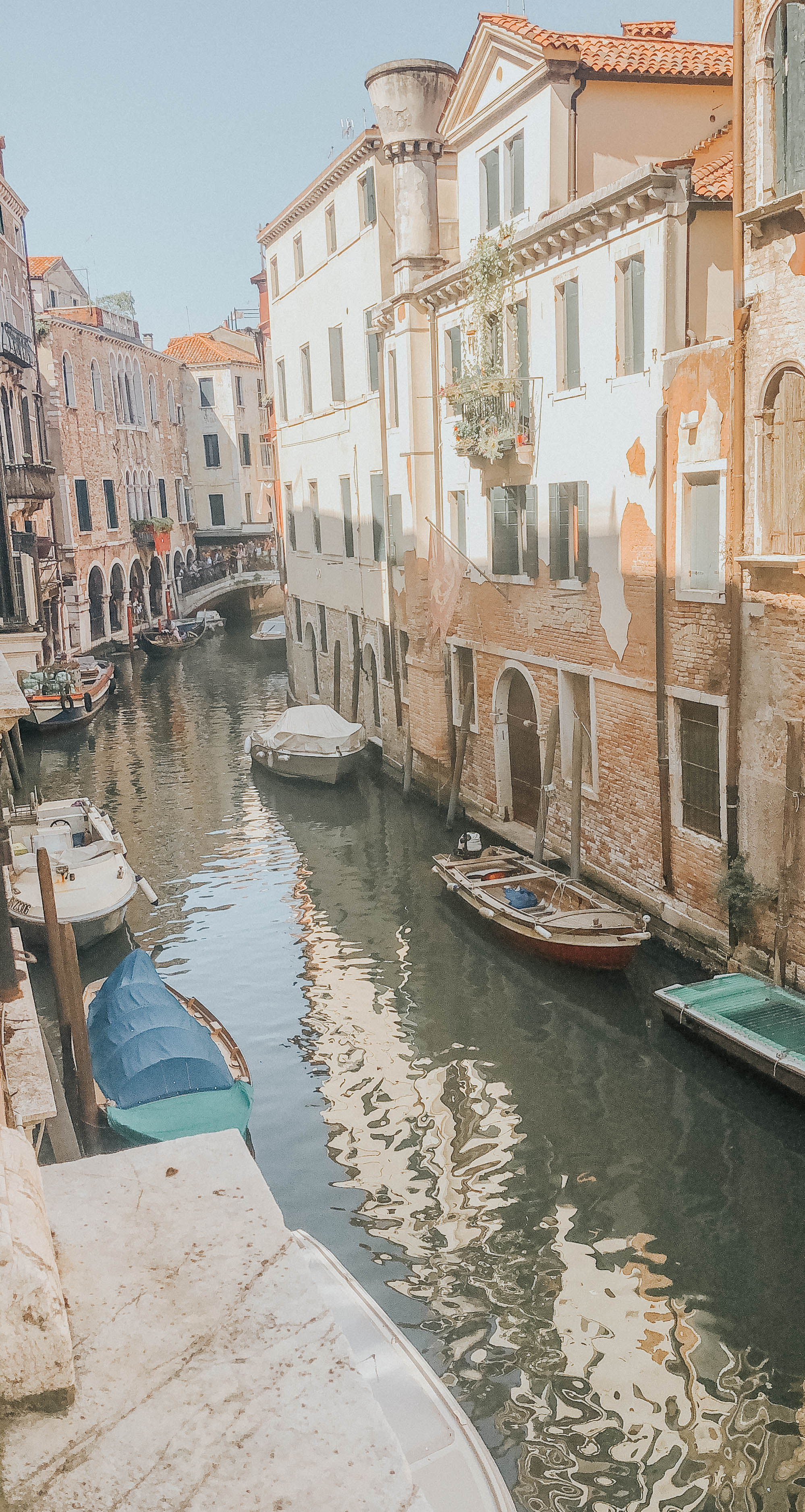 Canal View from our Airbnb | Venice, Italy