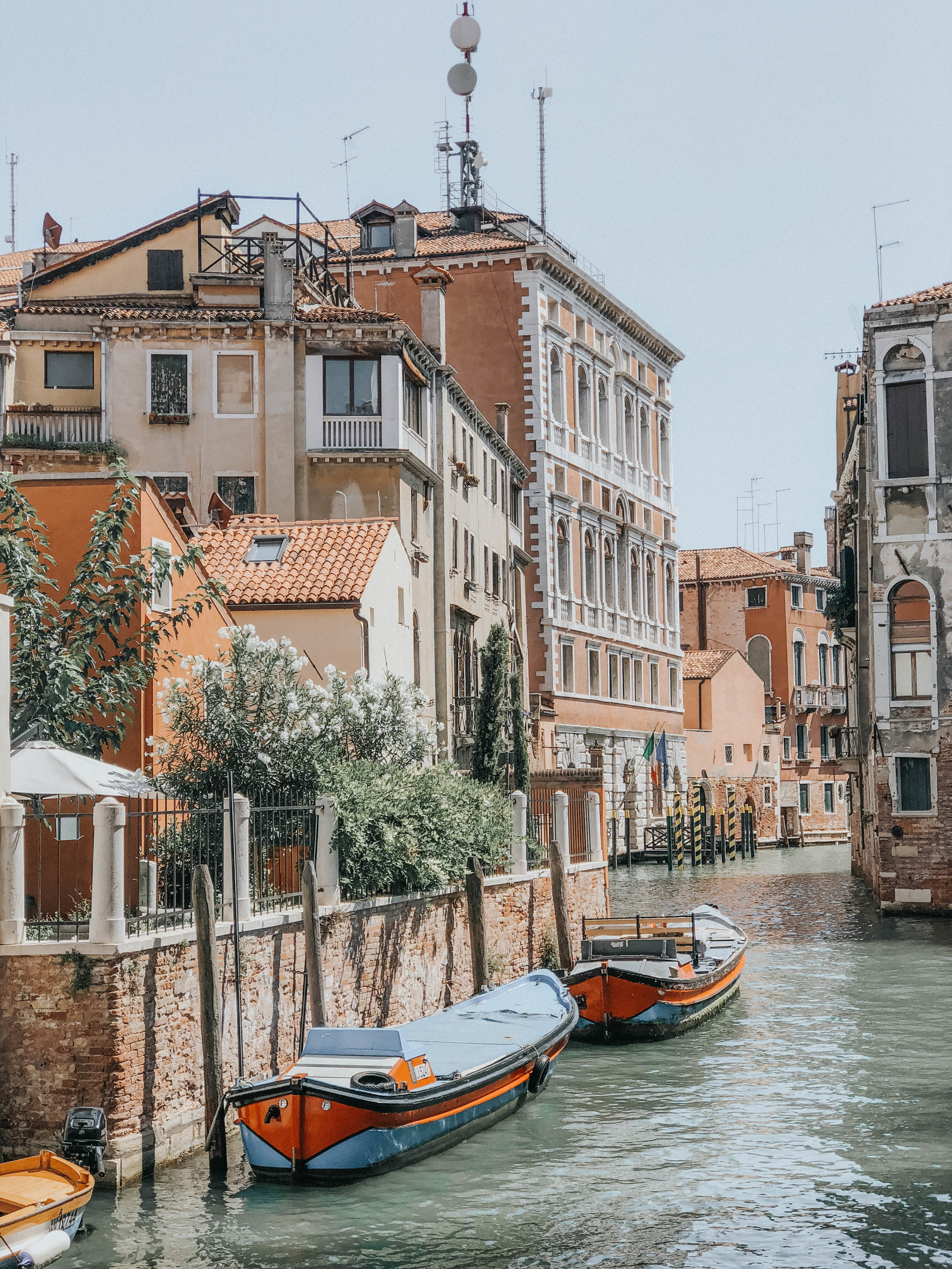 Canal View from Lunch | Venice, Italy