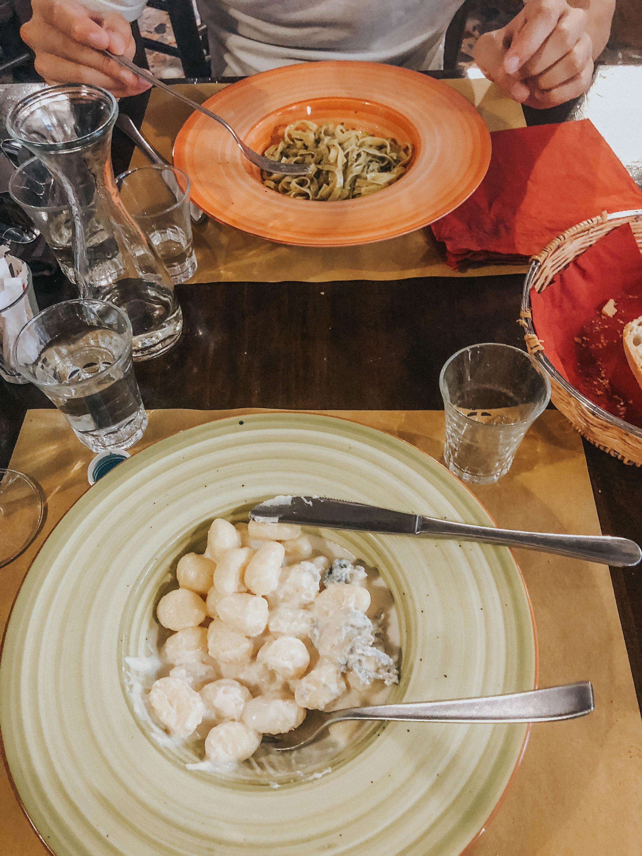 Four Cheese Gnocchi | Seafood Linguini