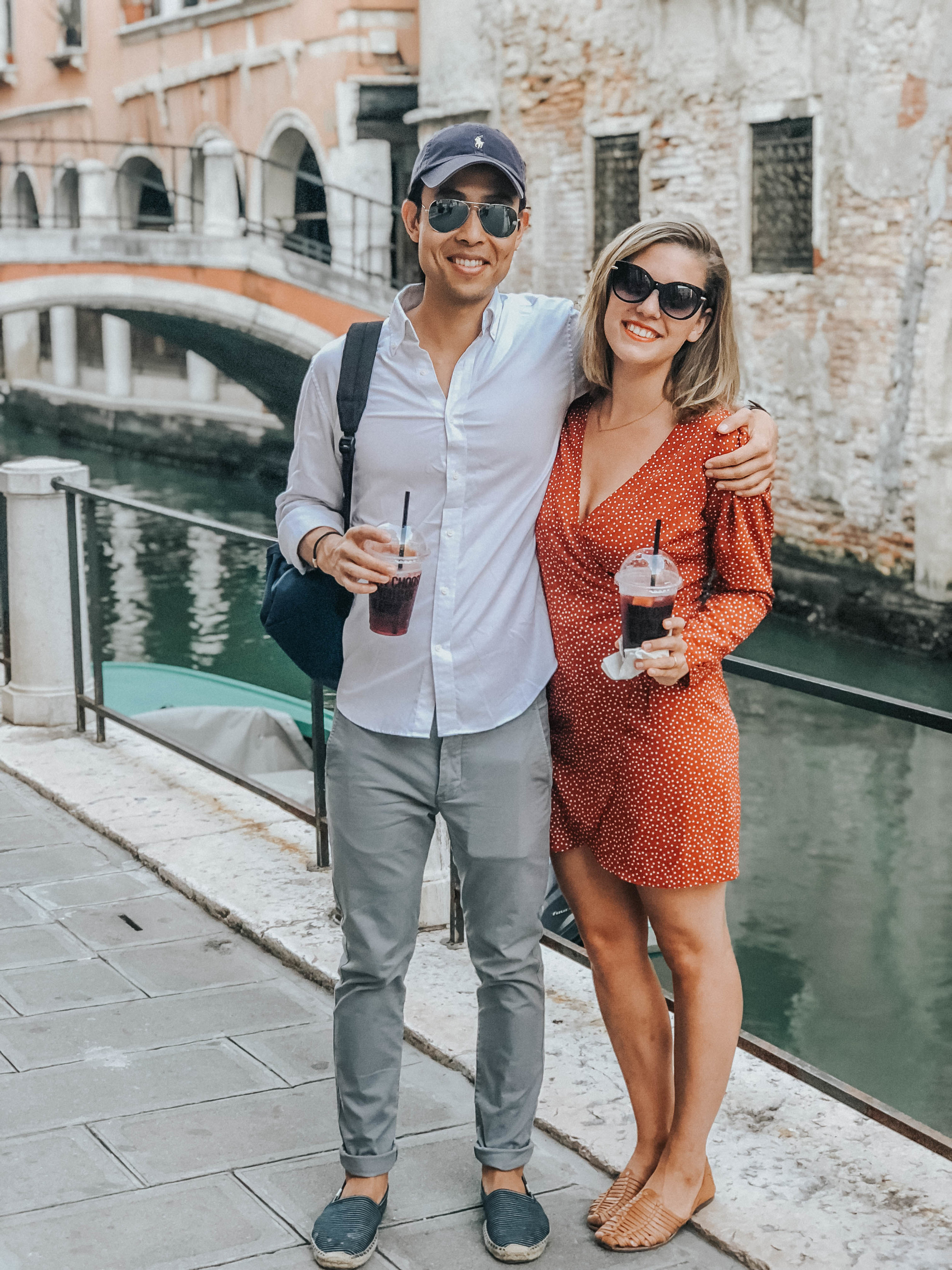 Cups of Sangria, to go | Venice, Italy