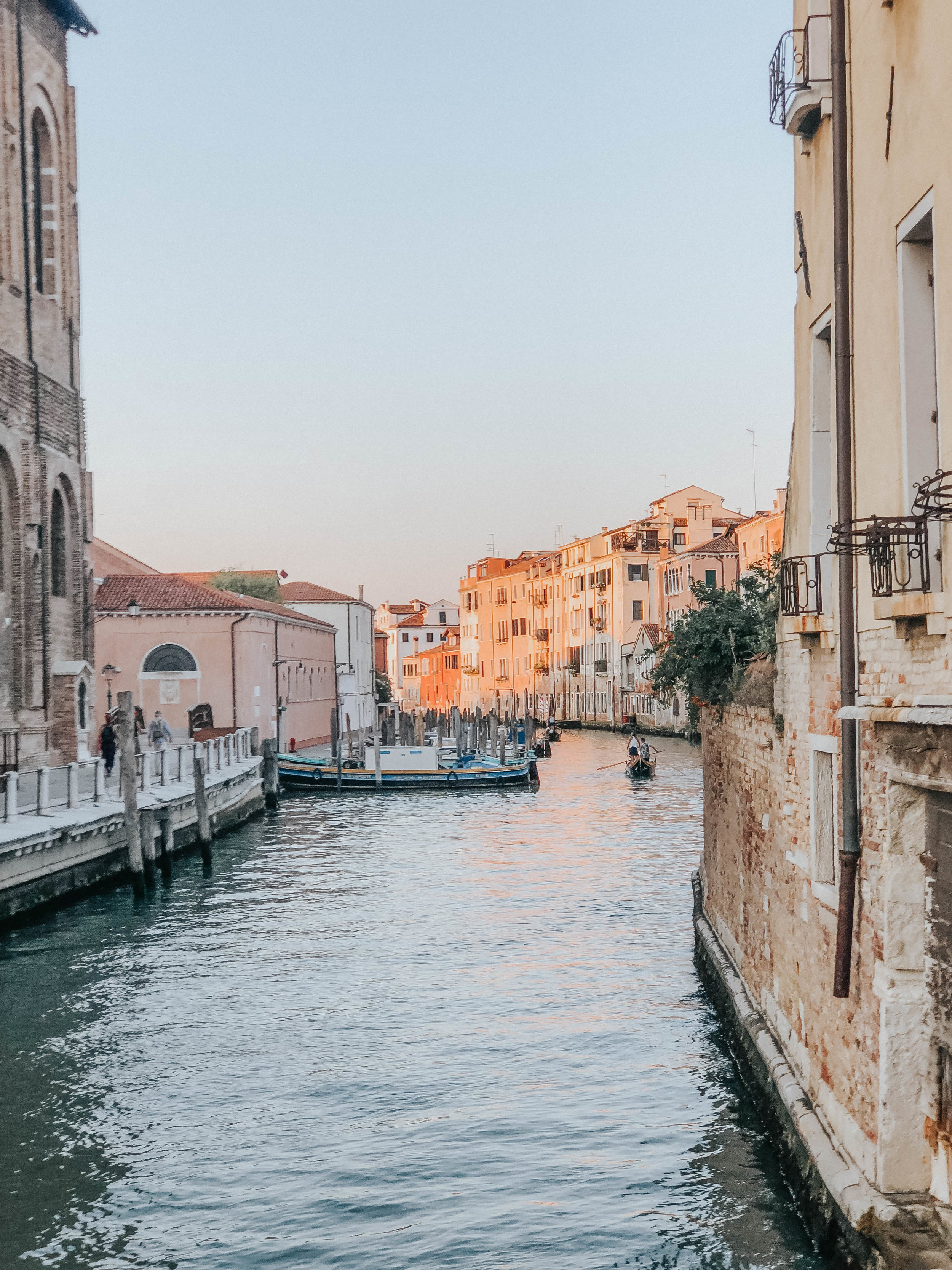 Sunset on the Canal | Venice, Italy