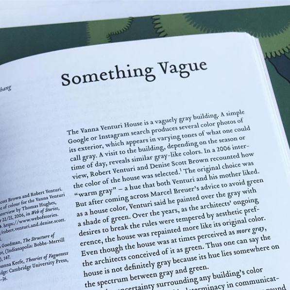"""Something Vague"" in  Log 44 . Courtesy Michelle Chang."