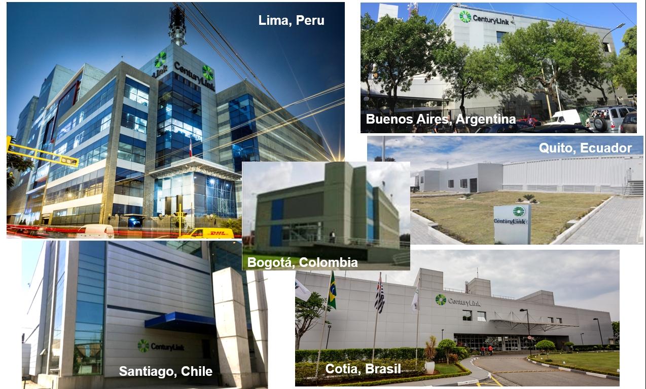 CenturyLink opera mais de 360 data centers no mundo, 18 dos quais estão na América Latina