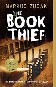 The Book Thief    Liesel Meminger is a foster girl living outside of Munich in Nazi Germany. Her life changes forever when she encounters something she can't resist–books. With the help of her foster father, she learns to read and her books help her and her neighbors through the war.