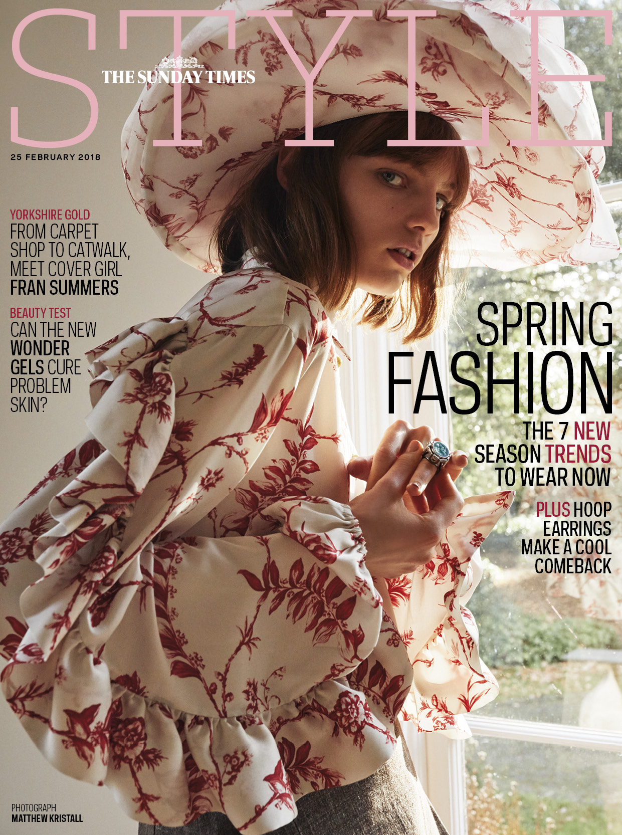 The Sunday Times Style Magazine - Fran Summers