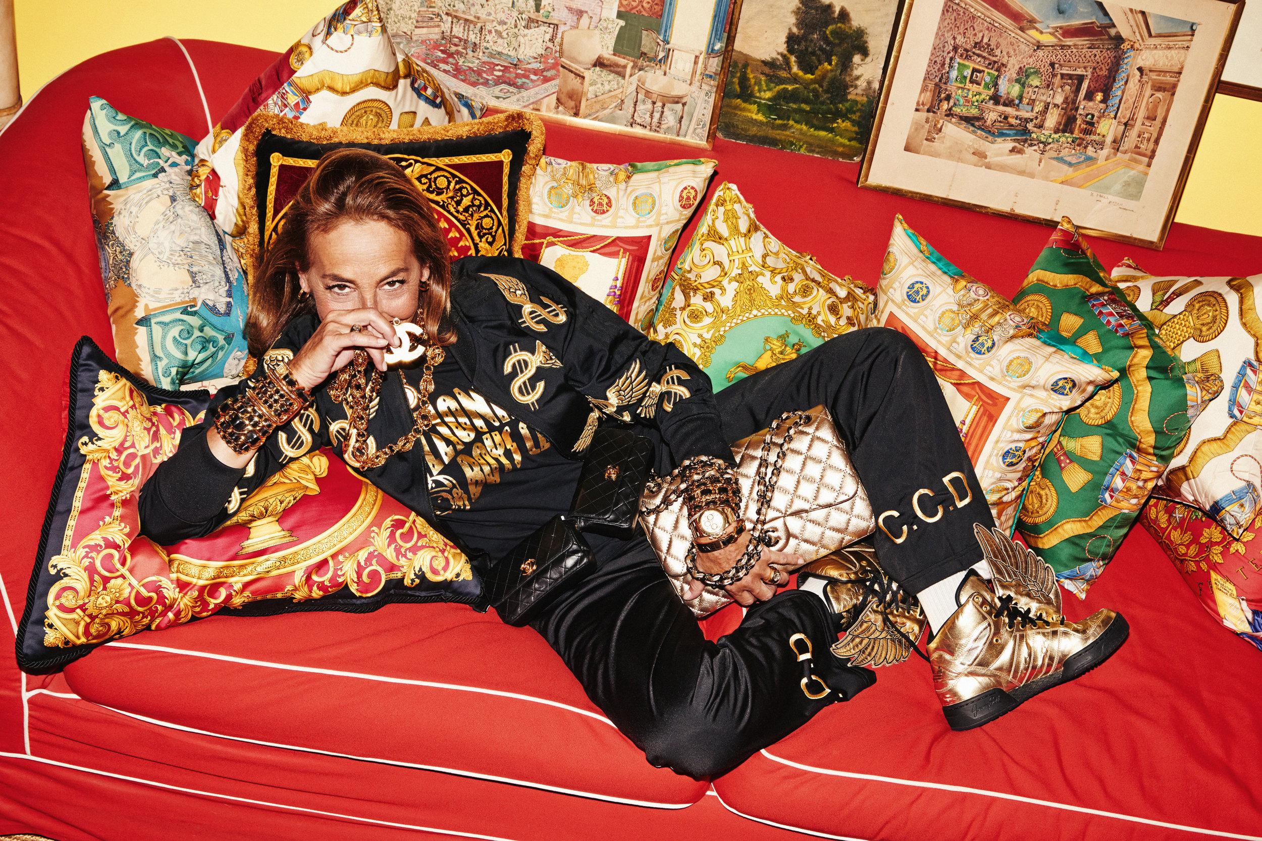 Vogue Paris - Carlyne Cerf De Dudzeele