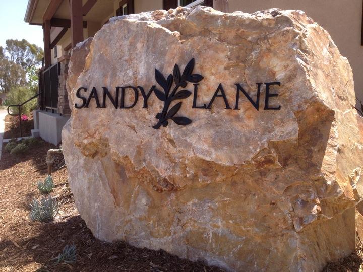 Sandy Lane sign .JPG