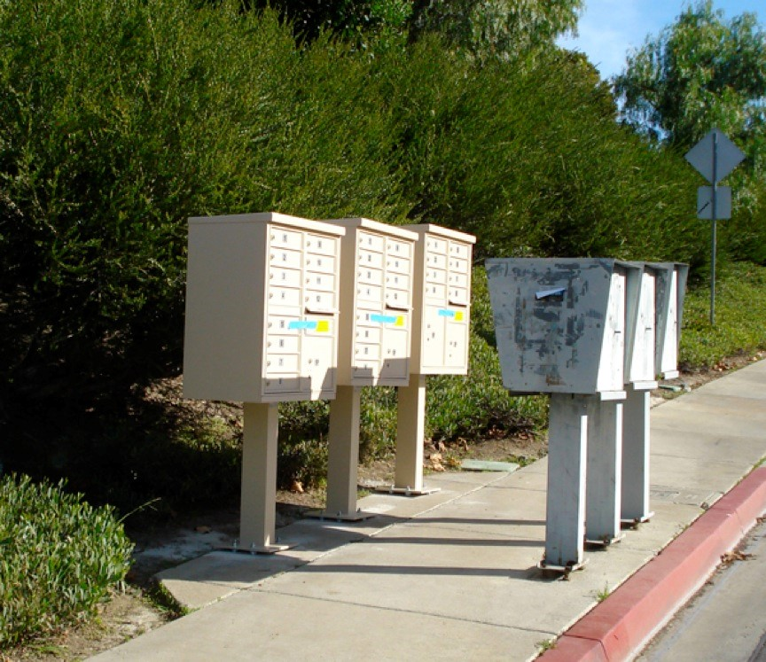 New and Old Mailboxes - Replace your obsolete mailboxes now with secure cluster boxes from Developers Specialties.