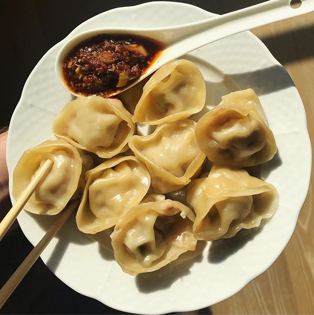 When we finally have a weekend off! Homemade dumplings with Korean Gochugaru & sesame oil sauce | Korean Gochugaru, Shandong Garlic, Indian Ginger #newproducttesting #royallyspicy