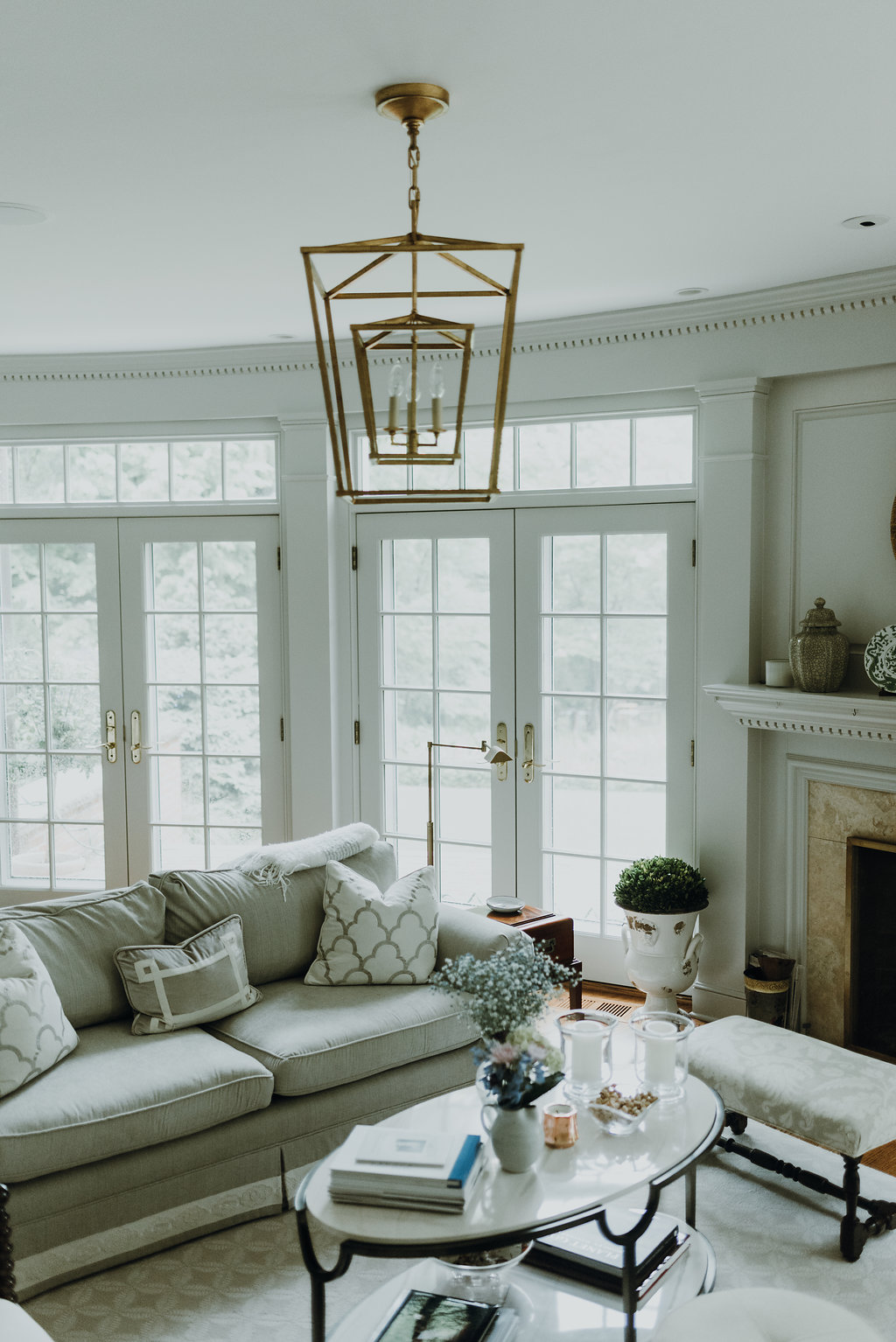 plymouth residence - plymouth poise a Pepper Pike colonial home is reimagined to achieve polish and poise. What began as a modest furnishings update to a daughter's bedroom, soon budded into a three-year evolution.