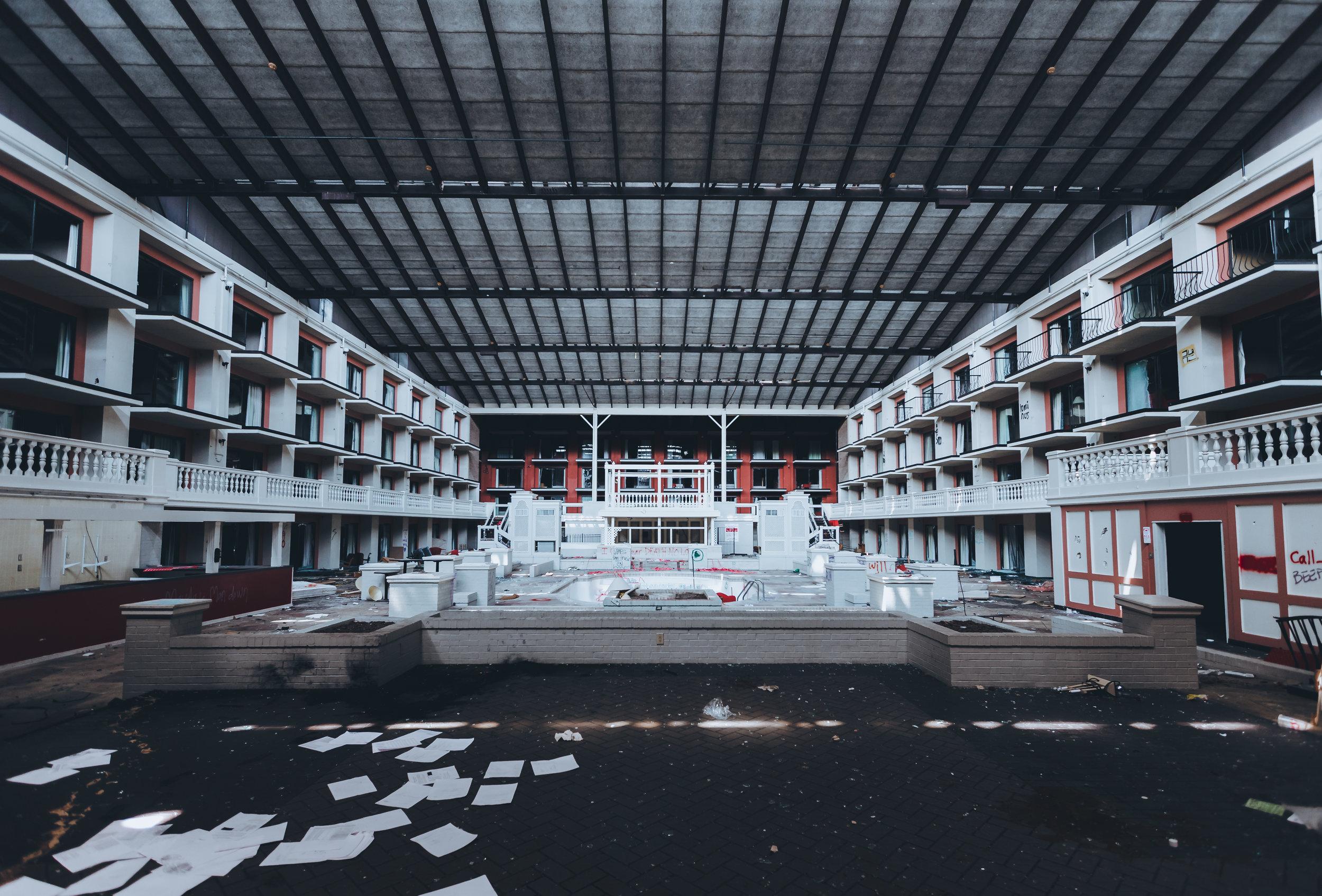 ABANDONED HOTEL -