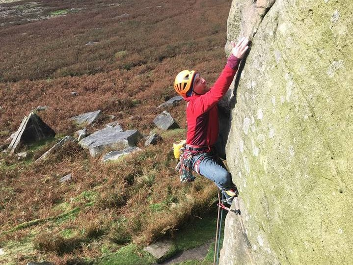 Octoberwas probably the best month of my year for personal trad climbing; lots of great days on the grit and a quality weekend in the South West which included Coronation Street at Cheddar. - Classic grit stone at Stanage