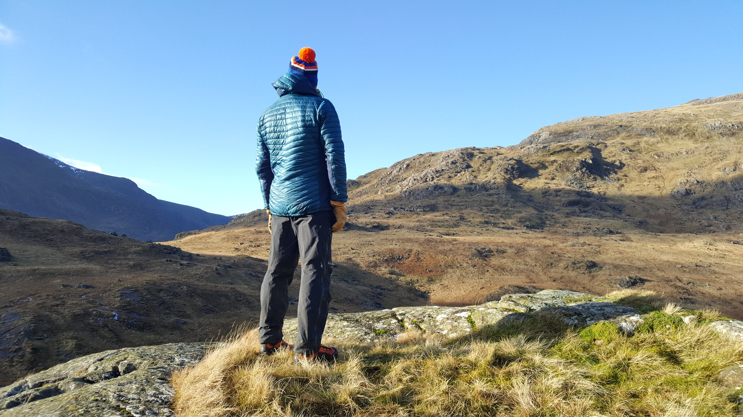 Freezing cold January day in Snowdonia