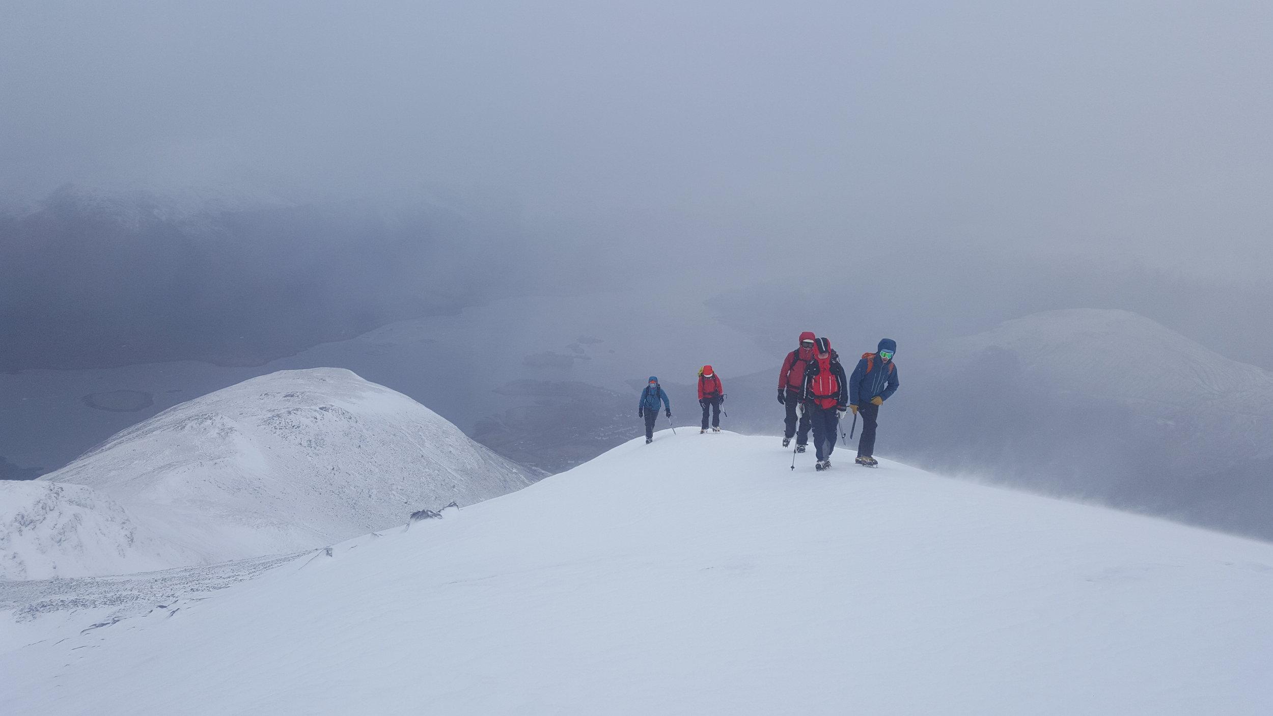 Burly day above Ballachulish