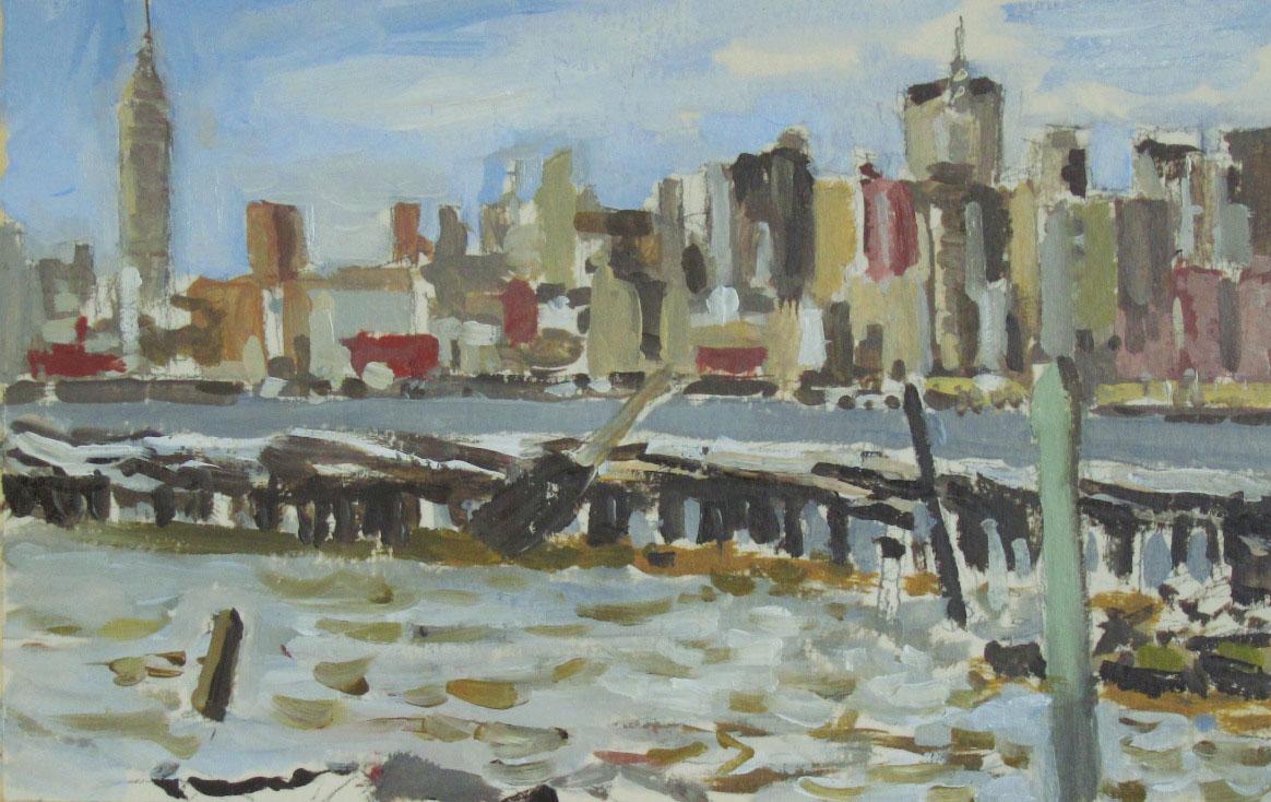 Manhattan from Greenpoint