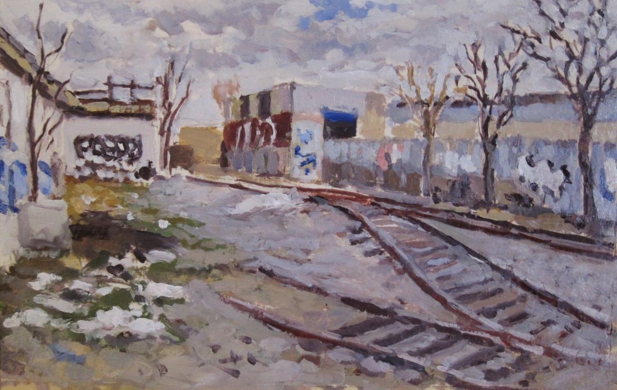 Old Railroad. Bushwick