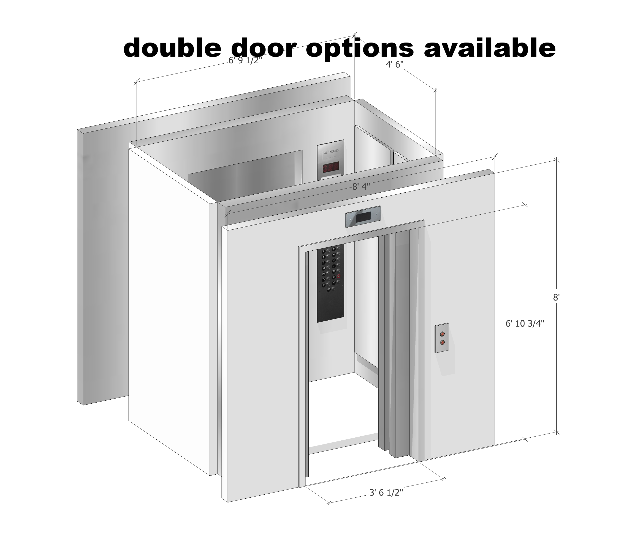 Double Door - Front & Rear