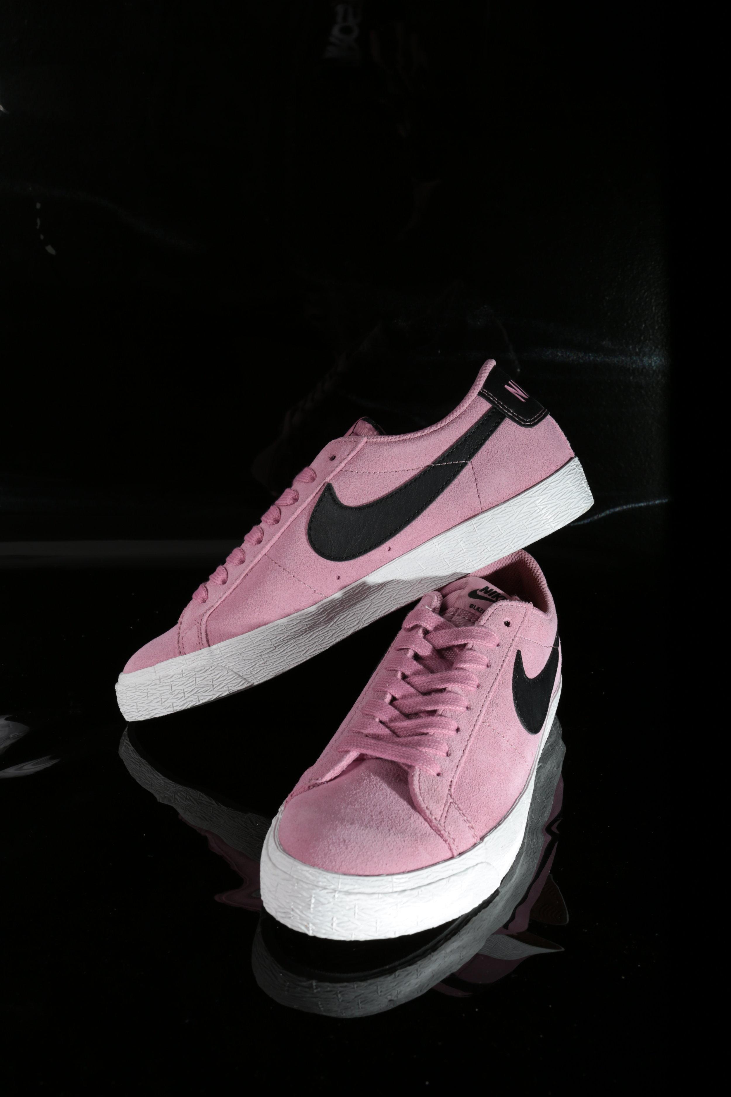Pink Nike SB Zoom Blazer Low