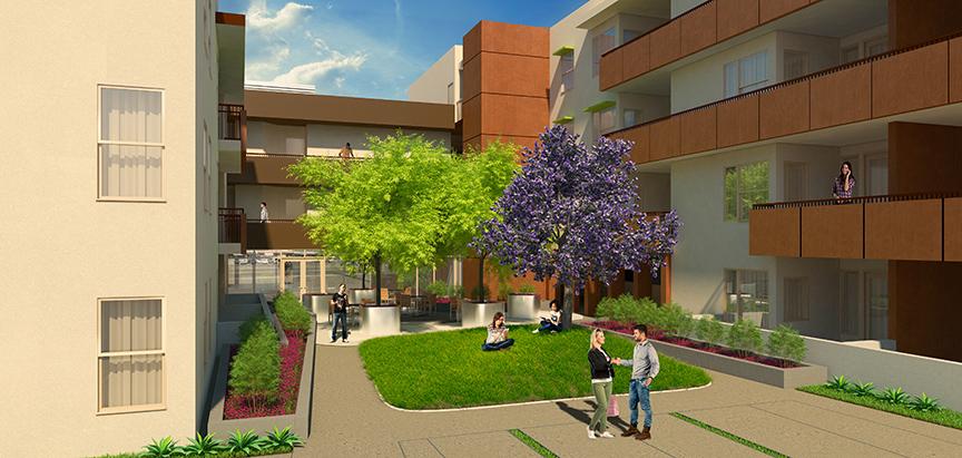 Palo Verde Apartments Rendering 1