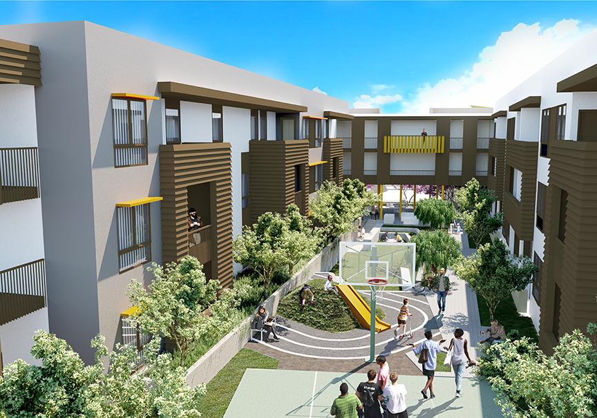 Stanford Apartments Rendering 2